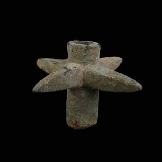 Spiked Luristan Bronze Mace Head