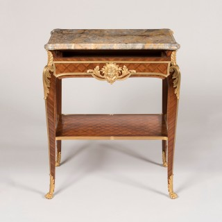 A Louis XVI Style Parquetry Occasional Table