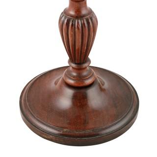 Early 20th Century Mahogany Table Lamp