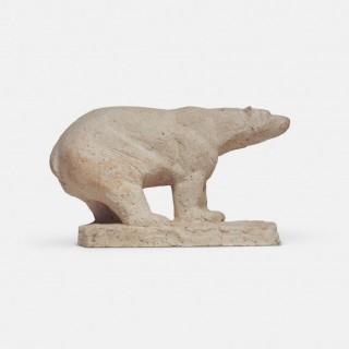 Polar Bear Sculpture by Herbert Geldhof