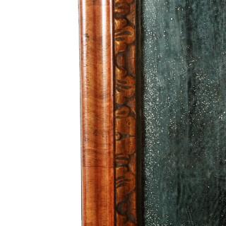 George I Walnut Framed Mirror