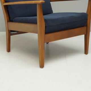 Mid Century Cintique Armchair