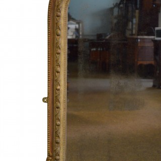 Early Victorian Overmantel Mirror H135cm