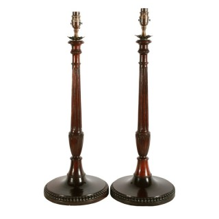 Pair of Candlestick Table Lamps