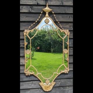 20th Century Gilded Wall Mirror