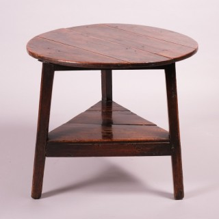 Late 18th Century Ash Cricket Table