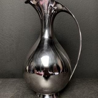 Rare silver wine / water jug by Kay Fisker