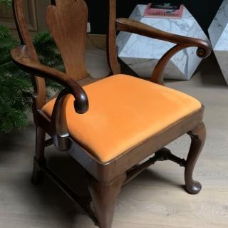 George II arm wingchair