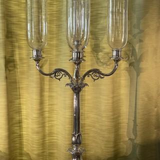 Important late Regency Five Light Candelabra by Cadman, Roberts & Co. Sheffield