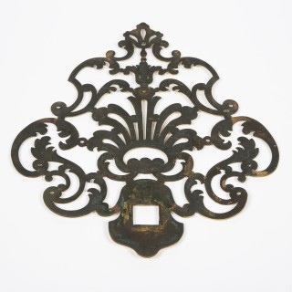 "French ""boucle de gibecière"" door knocker"