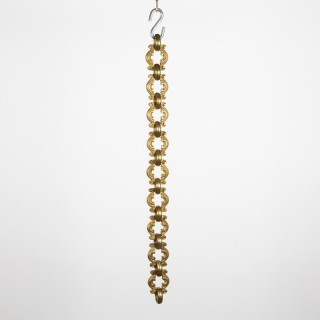 Gilt bronze chandelier chain