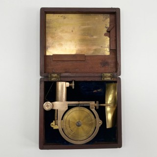Victorian Cased Saxton Water Current Meter by Elliott Brothers of 56 Strand London