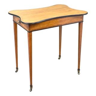 Georgian 18th Century Satinwood Table