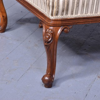 Large Early Victorian Stool