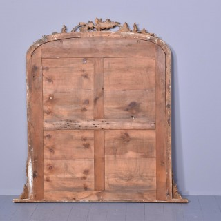 A Quality Mid-Victorian Overmantel Mirror