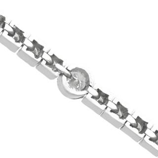 2.95ct Diamond and Platinum Bracelet - Antique Circa 1930