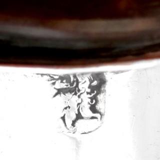 Britannia Standard Silver Brandy Pan - Antique William III