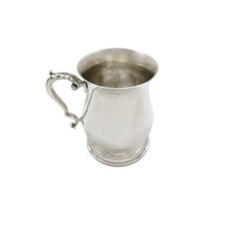 Vintage Sterling Silver Pint Mug / Tankard 1964