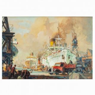 Lesley Arthur Wilcox: 'World Commerce'