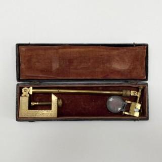Early Wollaston Type Camera Lucida by Thomas Rubergall London
