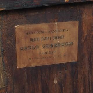 Georgian Italian Inlaid Commode / Chest of Drawers