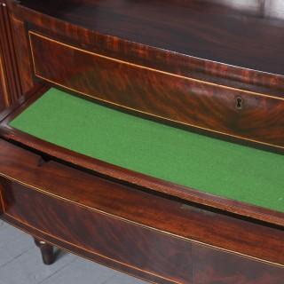 Exceptional George IV Mahogany Scottish Sideboard.