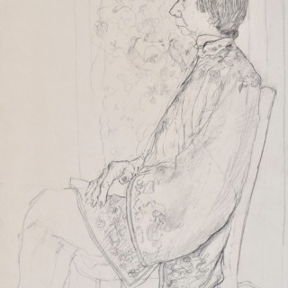Carolyn Sergeant - Woman in a Chinese Jacket