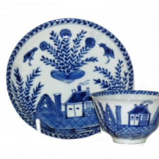 Kangxi Blue and White miniature Tea Bowl and Saucer