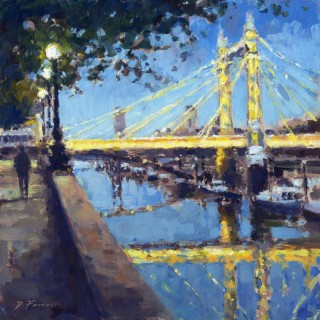 Albert Bridge Evening