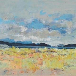 'Looking west from Culduie' by Gordon Hope Wyllie RSW (1930-2005)