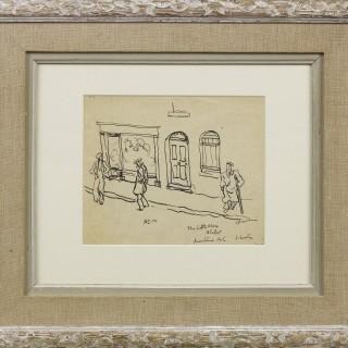 'Mountain Ash, South Wales' by Steven Spurrier RA RBA (1878-1961)