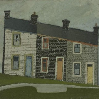 'Burnley' by Willie Rodger RSA RGI (1930-2018)