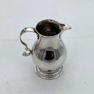 Antique George II Sterling Silver Cream Jug London 1739 David Hennell