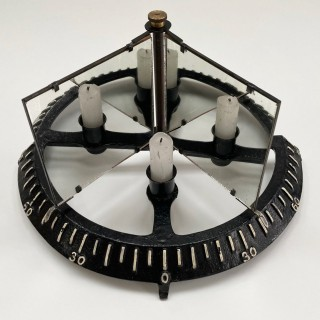 Late Victorian Law of Reflection Demonstration Apparatus