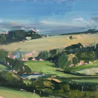 'Study of a Cornfield, Wiltshire' by Tom Hoar (born 1978)