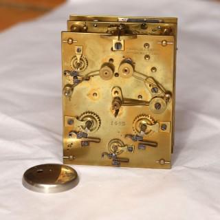 Paul Garnier Series I Engraved Carriage Clock