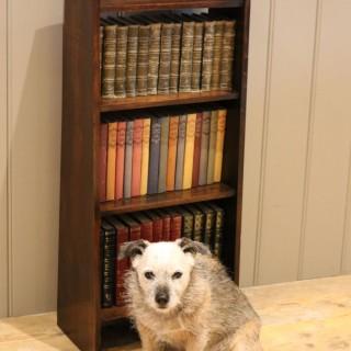 Small Proportioned Oak Waterfall Bookshelves