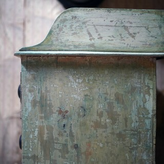 A Good 19thC Painted Pine Chest of Drawers