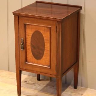 Inlaid Mahogany Side Cabinet