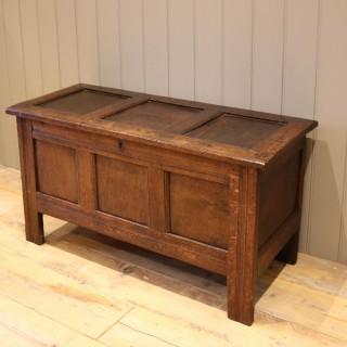 Original Late 17th Century Oak Coffer