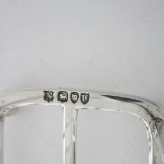 Antique Victorian sterling silver toast rack - 1895