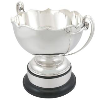 Sterling Silver Presentation Bowl - Antique George V (1923)