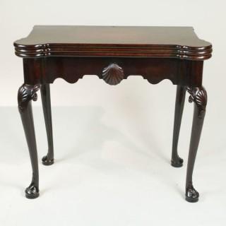 18th Century Irish Triple Top Card Table