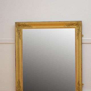 Attractive 19th Century French Giltwood Mirror