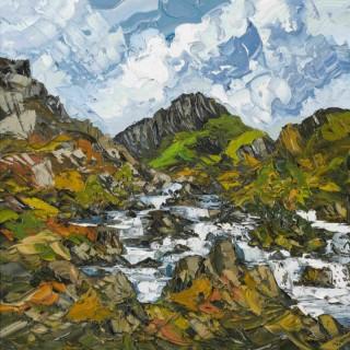 'Falls, Llyn Ogwen' by Martin Llewellyn (born 1963)