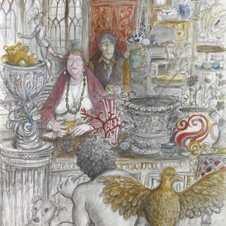 'The Antique Dealers' by Sue Macartney Snape (born 1957)