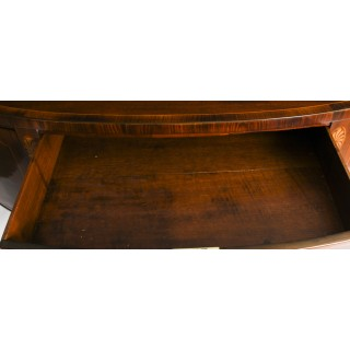 Antique George III Mahogany Demi Lune Sideboard C 1790