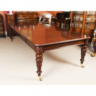 Antique William IV 10 ft Mahogany Extending Dining Table C1835 19th C