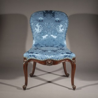 Fine George III Mahogany Chair in the manner of Thomas Chippendale