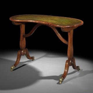 Regency Kidney Shaped Table